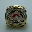 2001 Colorado Avalanche Stanley Cup NHL ring Hockey championship ring size 8-14 US