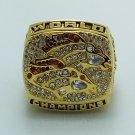 1998 Denver Broncos super bowl championship ring ELWAY size 8-14 US