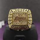 2000 Los Angeles Lakers Basketball Championship ring Kobe Bryant replica size 8-14 US