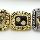 1991 1992 2009 NHL Pittsburgh Penguins Stanley Cup Championship rings size 8-14 US