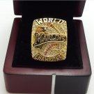 2003 Florida Marlins World Series MLB championship ring size 11 US + Wooden Box
