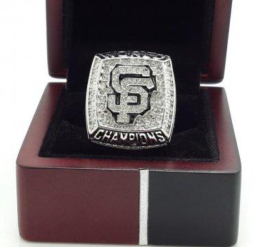 2012 San Francisco Giants world series Baseball championship ring size 11 US + Wooden Box