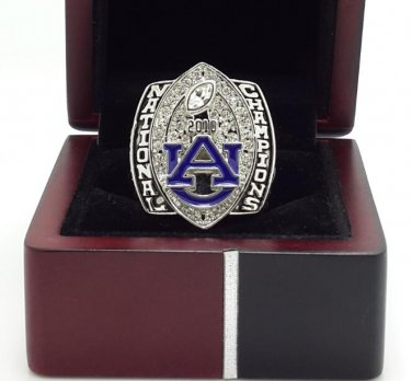 2010 University of Auburn Tigers NCAA championship ring size 11 US + Wooden Box