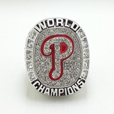 2008 Philadelphia Phillies Baseball world series championship ring size 11 US