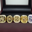 1996 1998 1999 2000 2009 New York Yankees World Series Championship rings 11S + Wooden Box