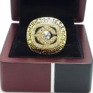 1985 Chicago Bears super bowl championship ring size 11 US + Wooden Box