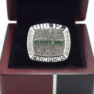 2014-2015 Baylor Bears Big 12 National championship ring 8-14S with wooden box