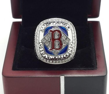 2004 Boston Red Sox World Series Championship ring ANDERSON size 8-14 US With wooden box
