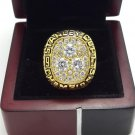 1987 Edmonton Oilers Stanley Cup Championship ring size 8-14 US +Wooden Case