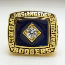 1981 Los Angeles Dodgers World Series Baseball Championship ring size 8-14 US