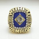 1986 New York Mets World Series Championship ring size 11 US