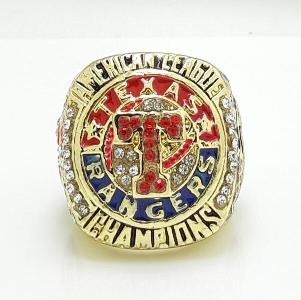 2011 Texas Rangers American League baseball championship ring size 11