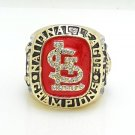 1985 St Louis Cardinals Championship ring size 11 US