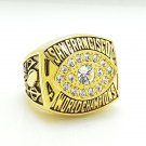 1981 San Francisco 49ers super bowl championship ring size 11 US