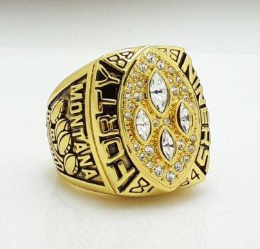 1989 San Francisco 49ers super bowl championship ring size 11 US