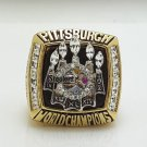 2005 Pittsburgh Steelers super bowl championship ring size 11 US