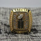 2006 Florida Gators Final National Championship ring 8-14S copper solid back