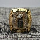 2006 Florida Gators Final National Championship ring 8-14S copper solid back