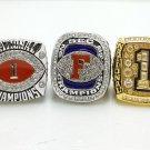 One set 2008 Florida Gators BCS SEC + NCAA National Championship ring 8-14 SIZE