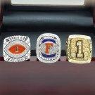 One set 2008 Florida Gators BCS SEC + NCAA National Championship ring 8-14 SIZE + BOX