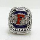 2008 Florida Gators SEC National Championship ring 8-14S copper solid back