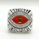 2008 Florida Gators BCS National Championship ring 8-14S copper solid back