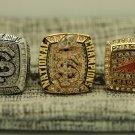 2013 Florida State Seminoles Orange Bowl +ACC+ BCS Championship Rings 3PCS size 8-14 US Back Solid