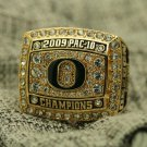 2009 Oregon Ducks PAC 10 National Championship ring 8-14 size copper solid back