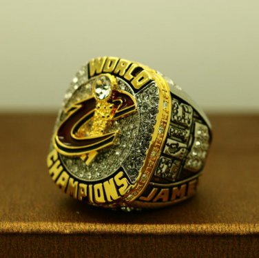 2016 Cleveland Cavaliers National Basketball Championship ring alloy ring size 10 US