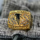1998 Atlanta Falcons NFC National Football Championship ring size 8-14 US