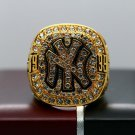1999 New York Yankees World Series Championship ring size 8-14 US +Wooden Case