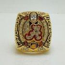 2015 2016 Alabama Crimson Tide Cotton Bowl Football National NCAA Championship Ring 8-14S