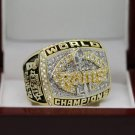 1999 St Louis Rams ring super bowl championship ring size 8-14 US + Wooden Box