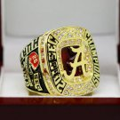 2016 Alabama Crimson Tide SEC National Championship Solid Ring 8-14S + Wooden Box