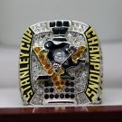 2017 NHL Pittsburgh Penguins stanley Cup Championship ring CROSBY size 8-14 US + Wooden Case