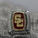 2009 USC South California Trojans Rose Bowl National Championship Ring Size 8 9 10 11 12 13 14