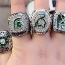 1979 2013 2015 2015 Michigan State Spartans National Championship Rings Size 11