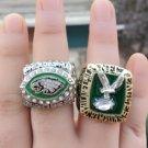 1980 2004 Philadelphia Eagles World Championship Rings Size 11