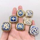 1977 1978 1996 1998 1999 2000 2009 New York Yankees World Championship rings Size 11