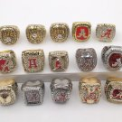 15PCS Alabama Crimson NCAA National Championship rings size 11 US