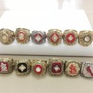 12Pcs St Louis Cardinals World Series Championship Rings Size 11