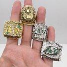 1966 1989 2007 2013 Saskatchewan Roughriders Grey Cup Championship Rings Size 11