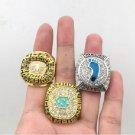 1982 2005 2017 North Carolina Tar Heels Basketball National Championship Rings Size 11