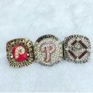 1980 2008 2009 Philadelphia Phillies World Series Championship Rings Size 11