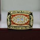 1987 Washington Redskins super bowl championship ring size 8-14 US with wooden box