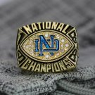 1988 Notre Dame Fighting Irish College National Championship ring Size 8 9 10 11 12 13 14