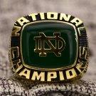 1977 Notre Dame Fighting Irish Cotton Bowl Championship ring Size 8 9 10 11 12 13 14