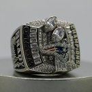 Custom Name & Number for 2003 New England Patriots super bowl ring size 8 9 10 11 12 13 14