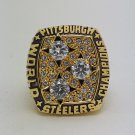 Custom Name & Number for 1978 Pittsburgh Steelers super bowl ring size 8 9 10 11 12 13 14