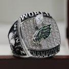WENTZ 2017 2018 Philadelphia Eagles LII Super Bowl Ring size 8 9 10 11 12 13 14 + Wooden Case